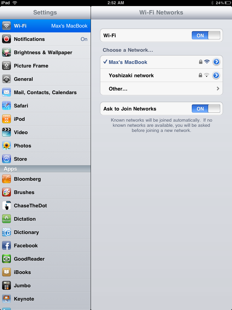 Image Result For Ipad Enter Wifi Password